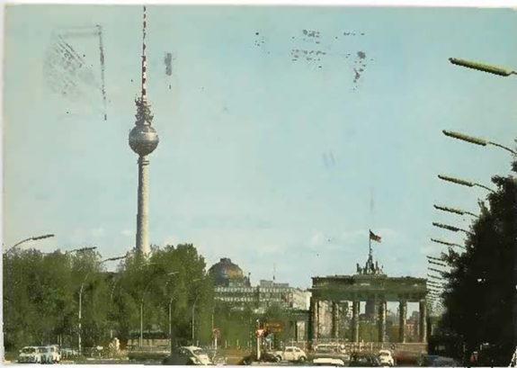 Postcard of scenery
