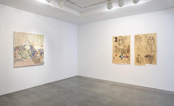 Drawings in gallery