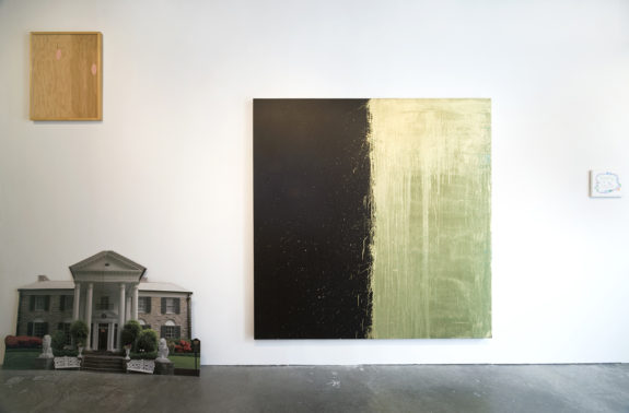 painting in gallery