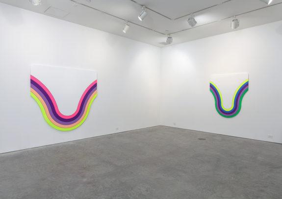 paintings inside gallery