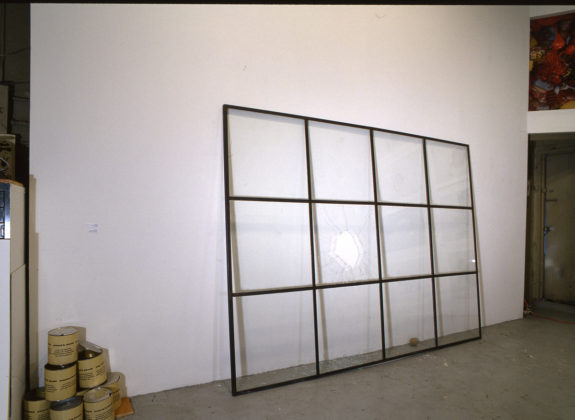 Large window pane