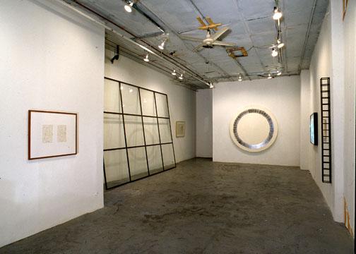 sculpture in gallery
