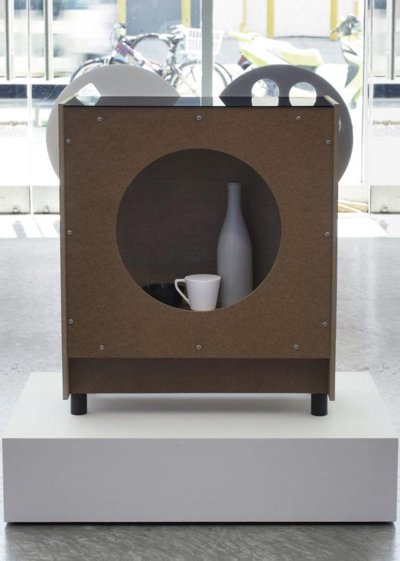 Ceramic bottle inside box