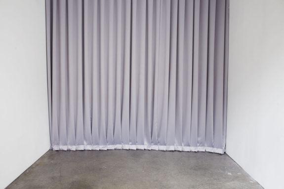 curtain on a wall