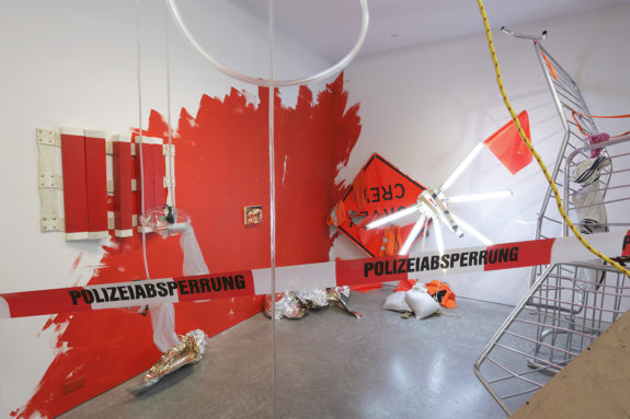 installation in gallery